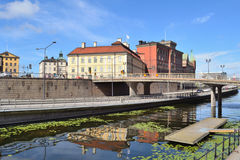 stockholm Wyspa Riddarholmen Obrazy Stock