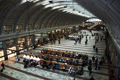 Stockholm, zentrale Station Stockfotos