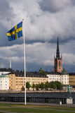 Stockholm Zweden Stock Foto's
