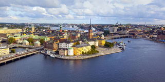 Stockholm - Zweden Stock Foto