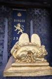 STOCKHOLM, ZWEDEN - AUGUSTUS 20, 2016: Cenotaaf van Birger Jarl Bi Royalty-vrije Stock Foto's