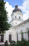 Stockholm, Zweden - Augustus 18, 2014 - Kerk van Adolf Frederick in Stockholm, Franse filosoof Rene Descartes was eerst begraven  Royalty-vrije Stock Foto