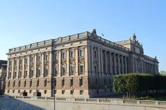 STOCKHOLM, ZWEDEN - CIRCA OKTOBER 2015: Mening over de stad van Stockholm Stock Fotografie