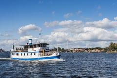 Stockholm Zweden: Passagiersveerboot M/S Gurli Royalty-vrije Stock Afbeelding