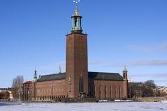StockholmRathaus Stockfoto
