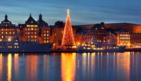 Stockholms老市 库存图片