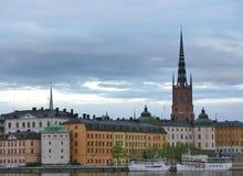 Stockholms alte Stadt Lizenzfreie Stockfotografie