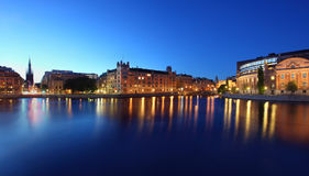 Stockholms city Royalty Free Stock Image