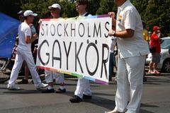 Stockholms Gaykor Photo stock