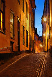Stockholms old city Royalty Free Stock Photo