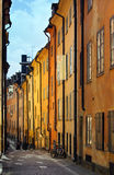 Stockholms old city Royalty Free Stock Image