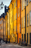 Stockholms old city Stock Photo