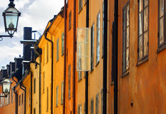 Stockholms old city Royalty Free Stock Photos