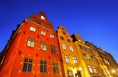Stockholms old city Stock Photography