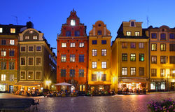 Stockholms old city Stock Photos