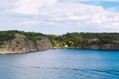 Stockholn islands Royalty Free Stock Photography