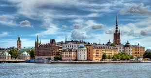 Stockhom view Stock Photography