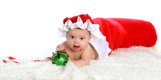Stocking Baby Royalty Free Stock Images