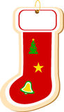Stocking Cookie Ornament Stock Images