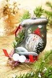 Stocking Santa Claus Royalty Free Stock Image