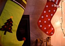 Stockings are Hung Stock Photo