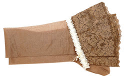 Stockings and white garter Stock Photography