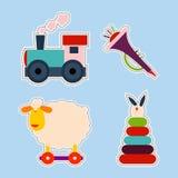 Stockistes de jouet d'enfant illustration stock