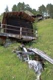 Stockmühlen maler, Apriach i Österrike Royaltyfri Bild