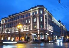 Stockmann en Nevsky. St Petersburg. Rusia Imagen de archivo libre de regalías