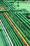 Stockphoto de tubos petroquímicos fotografía de archivo libre de regalías