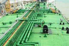 Stockphoto des pipes sur le récipient image stock