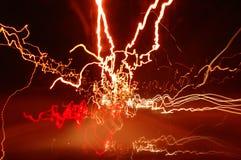 Stockphoto van haywire lichte slepen royalty-vrije stock afbeelding