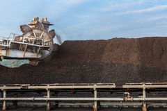 Stockpile of Coal Royalty Free Stock Photo