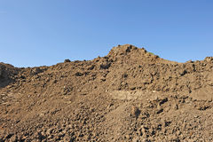 Stockpile of dirt Royalty Free Stock Photo