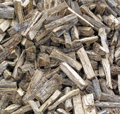 A Stockpile of Fresh Cut Firewood Royalty Free Stock Photo