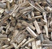 A Stockpile of Fresh Cut Firewood. A large pile of fresh cut firewood Royalty Free Stock Photo