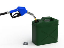 Stockpile of gasoline Stock Photo