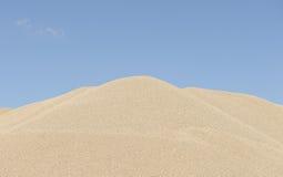 Stockpile of sand Stock Image