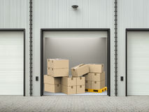 Stockpile in warehouse Stock Photography