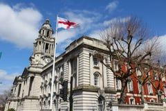 Stockport urząd miasta obrazy royalty free