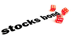 Stocks and bond decision Royalty Free Stock Image