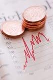 Stocks et actions Photographie stock libre de droits