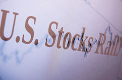 Stocks rally Stock Photos