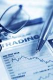 Stocks and Shares Stock Photo