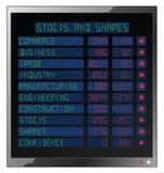 Stocks and Shares Crash Stock Photo