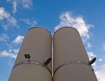 Stocks silos Stock Image