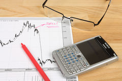 Stocks trading Stock Photos