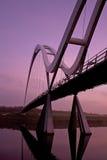 桥梁无限stockton发球区域 图库摄影
