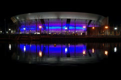 Stockton-Sport-Arena Lizenzfreies Stockbild