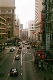 Stockton street, San Francisco Stock Image